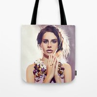 lana Tote Bags featuring Lana by MartaDeWinter