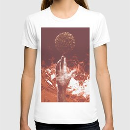 Hand of God Red T-shirt