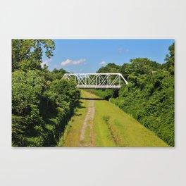 Local Landmark Bridge Canvas Print