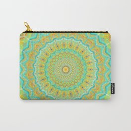 Citrus Burst - Mandala Art Carry-All Pouch