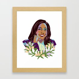Madam Vice President for the People Framed Art Print