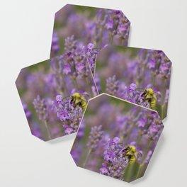 Lavender Bumble Coaster