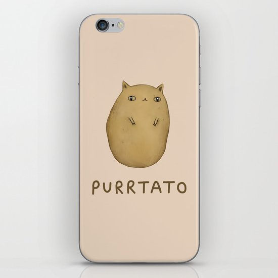 Purrtato iPhone Skin