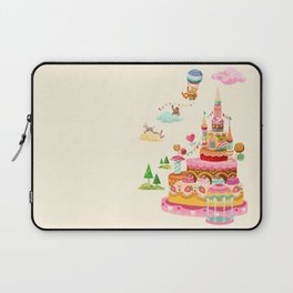 Ice Cream Castles In The Air Laptop Sleeve