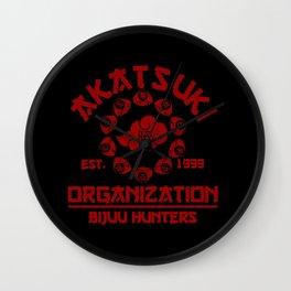 Akatsuki Organisation Wall Clock