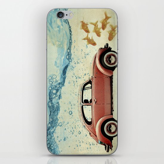 A fish out of Water iPhone & iPod Skin