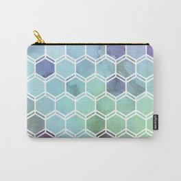 TWEEZY PATTERN OCEAN COLORS byMS Carry-All Pouch