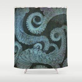 Octopus 2 Shower Curtain