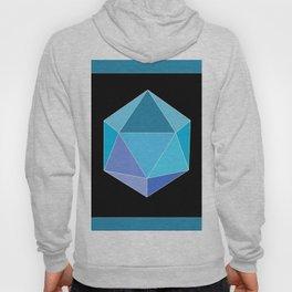 Blue Icosahedron. Hoody