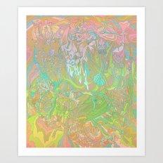 Hush + Glow Art Print