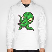 cthulhu Hoodies featuring Cthulhu by Artistic Dyslexia