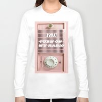 radio Long Sleeve T-shirts featuring Old Radio  by ''CVogiatzi.