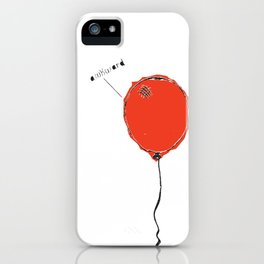 Awkward Balloon iPhone Case
