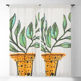 PLANT FOR THOUGHT Blackout Curtain