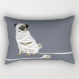 The Mummy Pug Return Rectangular Pillow