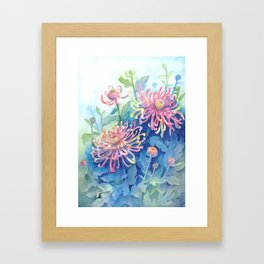 Chrisanthemum Framed Art Print