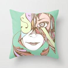 Rococolla Throw Pillow