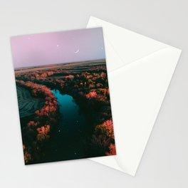 north dakota fall Stationery Cards