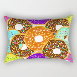 Doughnut Disturb Me When I'm Eating Rectangular Pillow