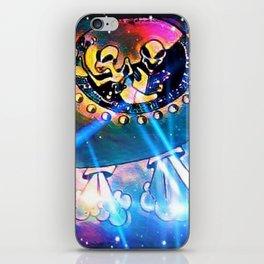 """Alien Vacation"" iPhone Skin"