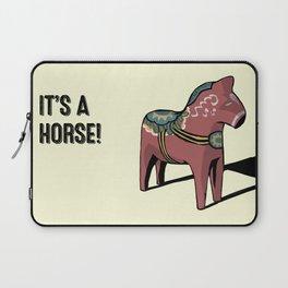 It's a horse! Laptop Sleeve