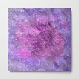 Pink and purple rough texture Metal Print