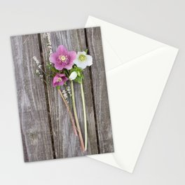 February Bouquet Stationery Cards