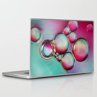 oil Laptop & iPad Skins featuring H2O & Oil by Sharon Johnstone