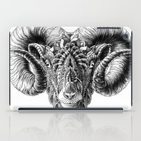 bioworkz iPad Cases featuring Ram Head by BIOWORKZ