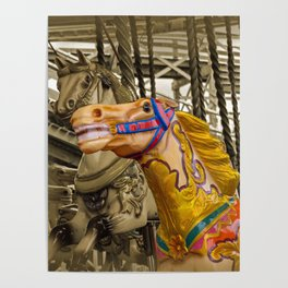 MERRY-GO-ROUND FUN Poster