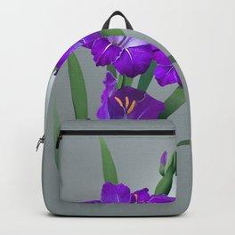 Purple Gladiolus  Backpack