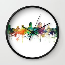 Sacramento California Skyline SP Wall Clock