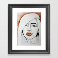 Geny Ann Gutierrez Framed Art Print