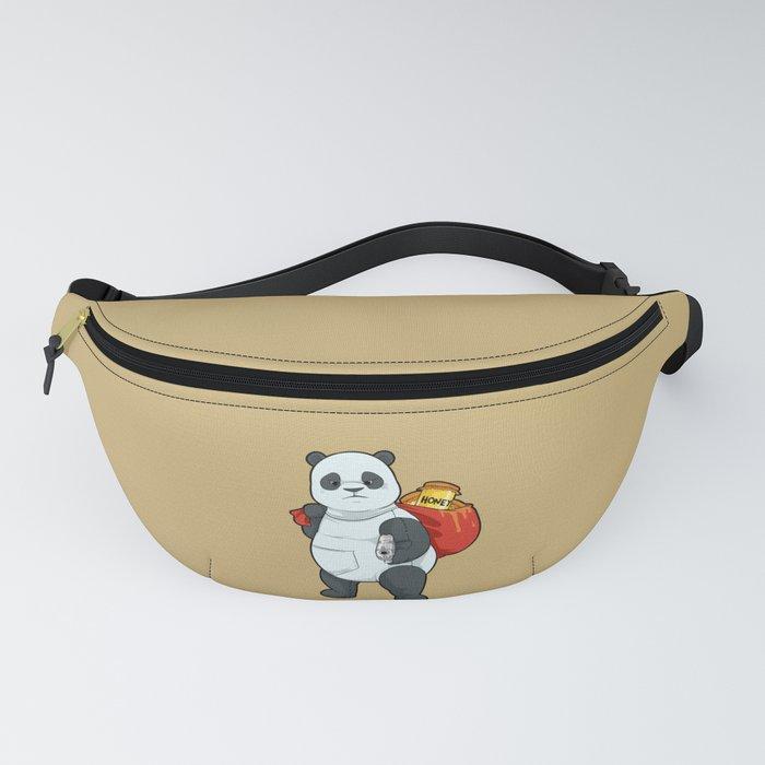 Bear in Disguise | Panda Bears, Guns & Honey Fanny Pack
