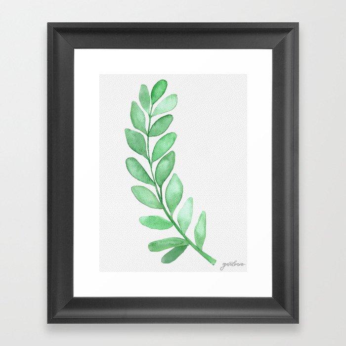 Eucalyptus Framed Art Print