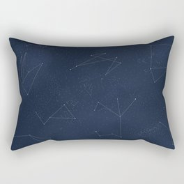 Somewhere in Time - Constellations Rectangular Pillow