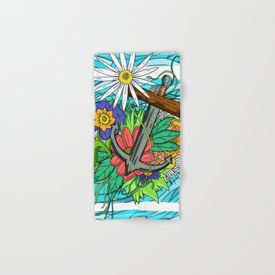 Nature's Anchor Hand & Bath Towel