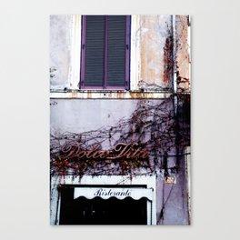 Dolce Vita Canvas Print