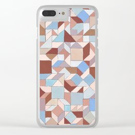 Steps of Siena Clear iPhone Case