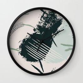 Calm splash Wall Clock