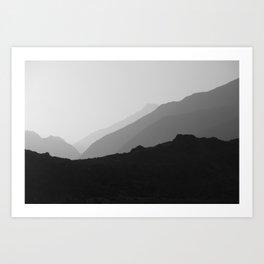 Karakorum Art Print