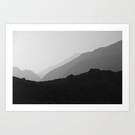Karakorum Art Print