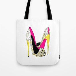 Fashion shoe art Tote Bag