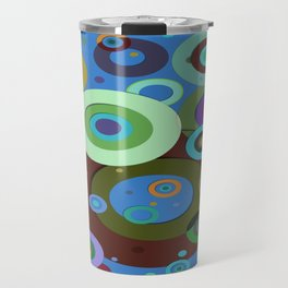 Op Art #9 Travel Mug