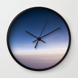 silent morning above Java Wall Clock