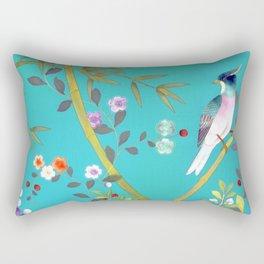 chinois 1731: turquoise  Rectangular Pillow