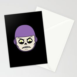 Deathray Head Stationery Cards