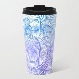The Ebb and Flow - Purp & Blue Travel Mug