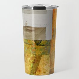 THE FACE BEHIND THE WINDOW Travel Mug