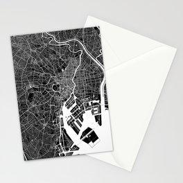 Tokyo - Minimalist City Map Stationery Cards